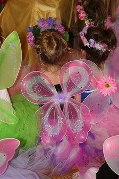 fairy wings & tutus