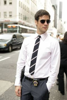 Eddie Cahill - Det. Don Flack, CSI New York.