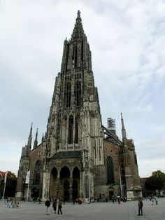 The Ulm Munster, Germany
