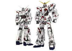 Mô hình giấy RX-0 Unicorn Gundam thiết kế bởi Paper-Replika | Papercraft RX-0 Unicorn Gundam create by Paper-Replika.