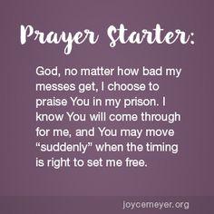 Praise God in Your Prison