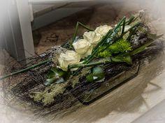 f r den sektempfang was nettes kleines tischschmuck tischdeko hochzeit floristik gerbera. Black Bedroom Furniture Sets. Home Design Ideas