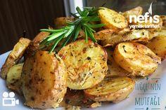 Fırında Özel Soslu Patates (Cips Gibi) Videolu