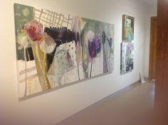 Drawn curtain by Dorothy Ganek