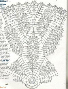 Képtalálat a következőre: How to Read pineapple Crochet Chart Patterns Free Crochet Doily Patterns, Crochet Doily Diagram, Crochet Circles, Crochet Mandala, Crochet Chart, Thread Crochet, Filet Crochet, Crochet Motif, Crochet Designs