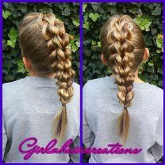 3d pullthrough braid #hbl1year #pullthrough #braids