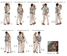 Sims2City: More than 200 000 pageviews gift! Thank you, dear friends! Romantic posebox!