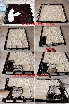 How to Make Sultan Wrap - sara wrap, chocolate, cocoa, sultan sar . Sarma Recipe, Easy Cake Recipes, Dessert Recipes, Milk Dessert, Vegetable Drinks, Apple Cake, Wrap, Food Design, Mousse