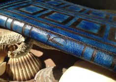 Time Travel Diary Passport Leather Cover/ Holder / by HarrismaLeatherGoods, $23.98