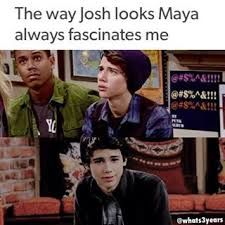 Josh's been in love with Maya since the Christmas episode and girl meets tot episode!!! These are the moments Josh fell in love with Maya!!! Awwwww!!!
