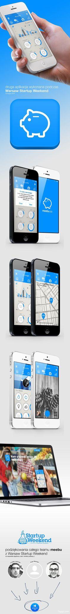 meebu financial APP UI design