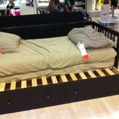 Day bed with drawers and pull out. Want for the office/guest room.