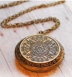 Antique Locket SALE Gold Necklace Pendant Locket Jewelry Pendant Necklace Necklace Edwardian Jewellery Mothers Day Gift Jewelry on Etsy, $26.00