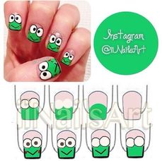 Frog nail art design choice image nail art and nail design ideas frog nail art design gallery nail art and nail design ideas frog nail art design gallery prinsesfo Images