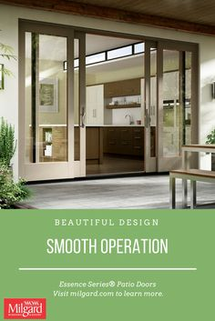 Beautiful Design Smooth Operation Featured Essence Series French Sliding Door