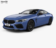 BMW 8 Series (F92) M8 Competition coupe 2019 3d model from Hum3d.com. Bmw Z4, Car Engine, Cinema 4d, Competition, Models, 3d, Vehicles, Parts Of The Mass, Dios