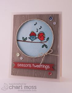 WinterSparrows by Lawn Fawn Design Team, via Flickr