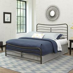 Found it at Wayfair - Cosmos Panel Bed