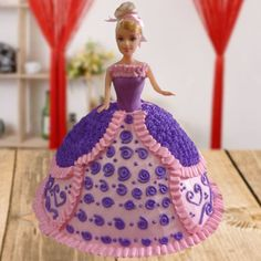 Bolo Barbie +de 40 Ideias de Bolos Lindos e Glamurosos #BoloBarbie #BolodaBarbie #Bolo #Barbie #FestadaBarbie #FestaBarbie Bolo Barbie, Barbie Cake, Barbie Dress, Pink Dress, Elsa Mermaid, Mermaid Barbie, Cute Mermaid, Barbie Princess, Disney Princess