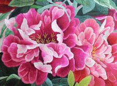Chinese Hand Embroidery Art-silk painting 100% hand embroidered