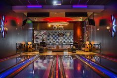 bowling alley seating - Google Search