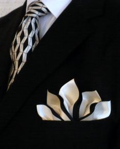 Custom Folded Uncommon Pocket Squares by PocketSquareZ on Etsy, $16.00