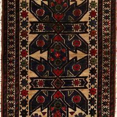 Taimani Burjusta Hand Knotted Killil Size: M x M Carpets, Knots, Rugs, Home Decor, Farmhouse Rugs, Farmhouse Rugs, Decoration Home, Room Decor, Knot