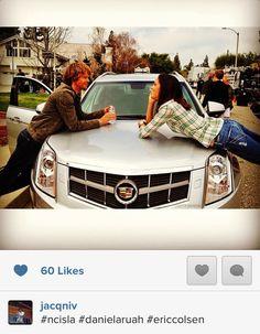 photo of Daniela Ruah Cadillac Escalade - car