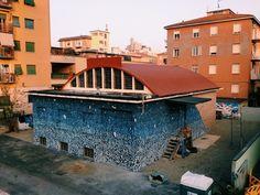 Tellas - Italian Street Artist - Bologna (IT) - 10/2014 - |\*/| #tellas #streetart