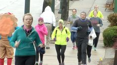 Charlevoix Turkey Trot Collects Food for Local Food Pantries - Northern Michigan's News Leader