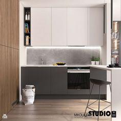 minimalistyczna kuchnia - zdjęcie od MIKOŁAJSKAstudio