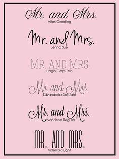 5 Free Wedding Fonts CT-Designs Calligraphy and Wedding Stationery: