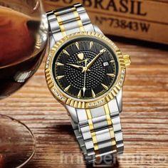 Ceas automatic barbatesc cu limbi fosforescente, brand Tevise Gold Watch, Omega Watch, Rolex Watches, Accessories, Jewelry Accessories
