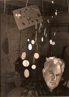 Alexander Calder known for his kinetic artworks, Calder designed over a thousand pieces of jewelry throughout his career.