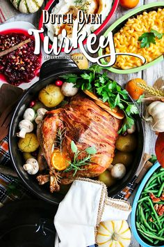 Dutch Oven Turkey, using Xtrema Ceramcor, ceramic cookware. Wet brine recipe, plus preparation of the turkey before Thanksgiving dinner. 1 (12-14 pound) young Turkey (reserve neck and giblets for the stock)  2 carrots 1/2 Onion 1 Lemon 4 crushed garlic cloves