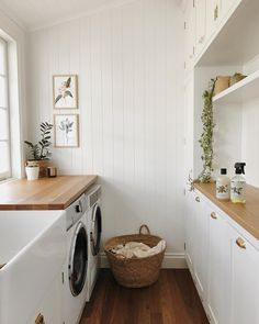inspiring efficient laundry room ideas for small spaces 24 Home Design, Küchen Design, Home Interior Design, Booth Design, Laundry Room Inspiration, Laundry Room Design, Laundry Decor, Laundry Tips, Small Laundry