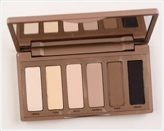 Urban Decay New Naked Palette in Basic Nude colors. #nakedpalette #makeup #urbandecay