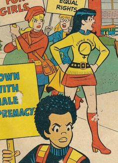 Archie's Girls Betty and Veronica Comic Art, Comic Books, Comic Poster, Comics Vintage, Protest Art, Betty And Veronica, Comic Panels, Archie Comics, Photo Wall Collage