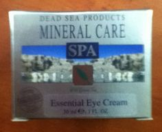 Mineral Care Essential Eye Cream by aJudaica