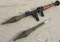Soviet RPG-7 Rocket-propelled grenade Launcher
