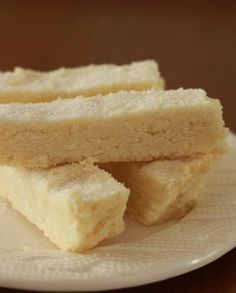Low FODMAP Recipe and Gluten Free Recipe - Lemon Shortbread Fingers