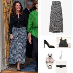 Princess Marie Of Denmark, One Shoulder Jumpsuit, Danish Royal Family, Danish Royals, Crown Princess Mary, Royal Fashion, New Look, Police, 26 September