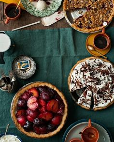 How about a pie buffet? #newwaytoholiday