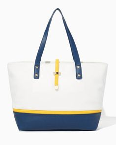 Paige Color Block Tote | Fashion Handbags - Set Sail | charming charlie