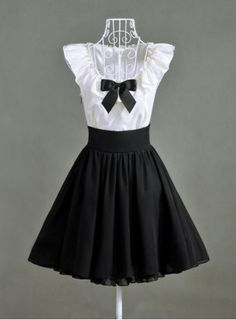 Vintage Sweetheart Neckline Lace Splicing Bow Short Sleeves Women's DressVintage Dresses | RoseGal.com