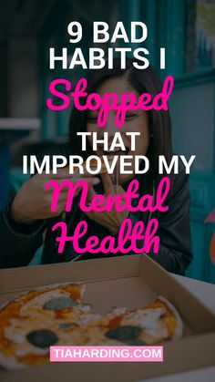 Things I Stopped Doing That Helped My Depression And Anxiety These are the 9 bad habits I stopped to improve my mental health and start recovery.These are the 9 bad habits I stopped to improve my mental health and start recovery. Health And Wellness Quotes, Health And Wellbeing, Wellness Tips, Health And Nutrition, Health Tips, Health Fitness, Fitness Hacks, Health Care, Squats Fitness
