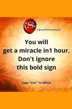 Manifestation, law of attraction, affirmation