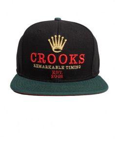 71fa8bdd1ce Crooks   Castles - Remarkable Woven Snapback Cap -  36