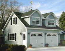 Within the previous ten years that unfavorable view of the garage has actually altered dramatically. Climatizing the garage has actually become a lot more than an afterthought. Cheap Garage Doors, Plan Garage, Rv Garage, Garage Room, Garage Studio, Garage Ideas, Detached Garage Designs, Garage Door Design, Garage Apartment Plans