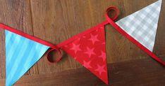 Alhoewel een vlaggenlijn naaien helemaal niet   moeilijk is, hoop ik dat er veel mensen   blij worden van deze, gestreken vlaggenlijn   He...